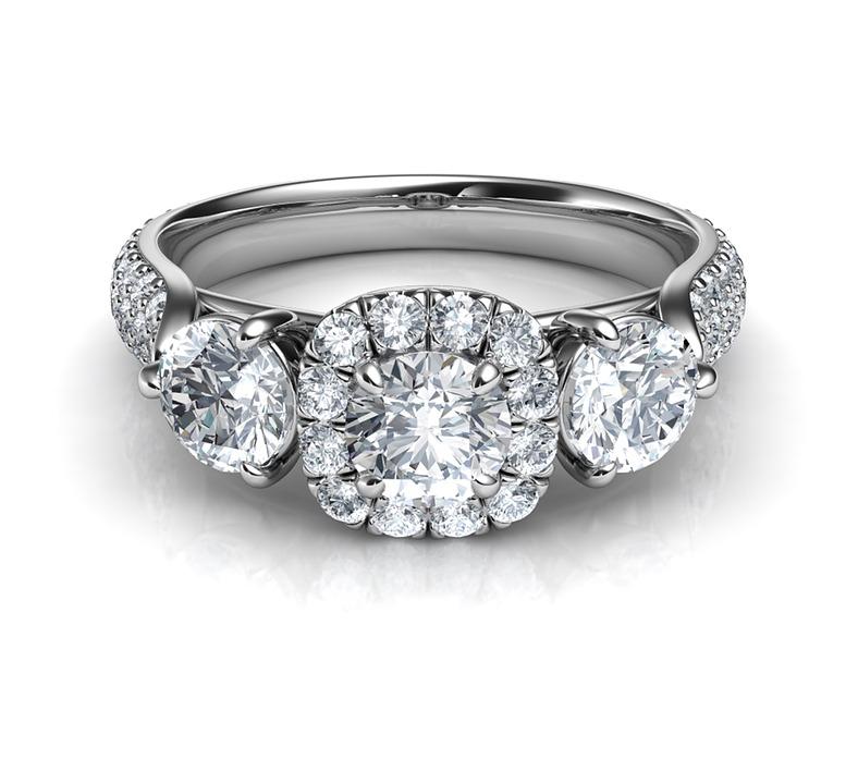 Bague en diamant